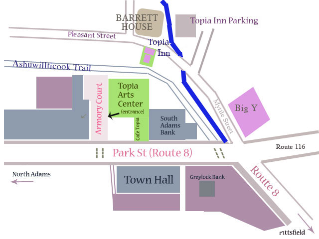 Map of Topia Inn